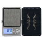 ATP-188 100g / 0.01g Mini Palm Scale / Jewelry Scale - Black + Silver