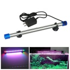 Jiawen 1.5W 30cm Colorful Light 27-LED Aquarium Light (US Plugs)