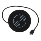 Waterproof Qi Standrad Desktop Wireless Charger Quick Charger - Black