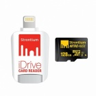 Strontium Nitro 466X SRN128GTFU1D MicroSD 128GB+Apple Lighting iDrive