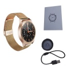 "Ordro B1 1.3"" Full Screen Smart Watch w/ Heart Rate Monitor - Golden"