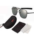 ReeDoon AO8054 UV400 Protection Sunglasses - Black + Grey