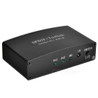 BSTUO SPDIF / Toslink 3-In -Out 1 IR divisor switcher - preto