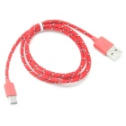 USB 3.1 Type C to USB 2.0 Charging Cable - Red (100cm)