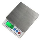 "MH-693 10kg/1g 2.2"" High-quality Kitchen Scale - White + Silver"