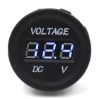CS-016B2 12~24V DC Blue Light Car / Motorcycle Voltmeter Head