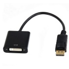 BSTUO DP DisplayPort Male to DVI Female Cable Adapter for PC - Black