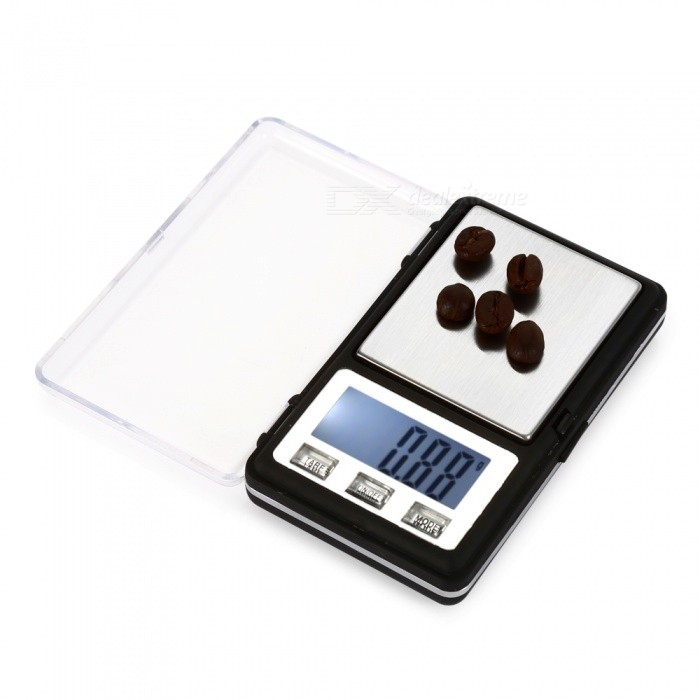"MH-336 200g/0.01g 1.6"" Display Precision Electronic Scale - Black"