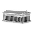 Free Plastic DIY 3D Puzzle Assembled Model Toy Athens Temple - Silver