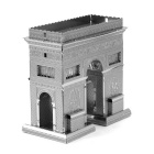 DIY 3D Puzzle Assembled Model toy Arc De Triomphe - Silver