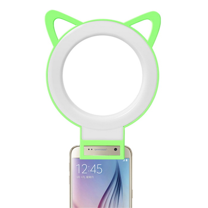 Practical Outdoor Selfie Fill Light - Green