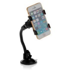 ZIQIAO 360° Rotatable Car Windshield Windscreen Mount Holder - Black