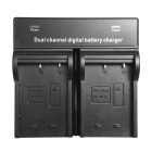 W126 Digital Camera Battery Dual Charger for FujiFilm NP-W126 X-PRO1