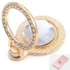Adjustable Diamond Design Ring Style Phone Stand for Mobile Phone