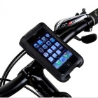 ROSWHEEL Bicycle Handlebar Phone Bag for IPHONE 4/4S/5/5S - Black (1L)