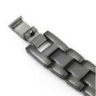 Stainless Steel Watch Strap for Xiaomi Miband 2 - Black