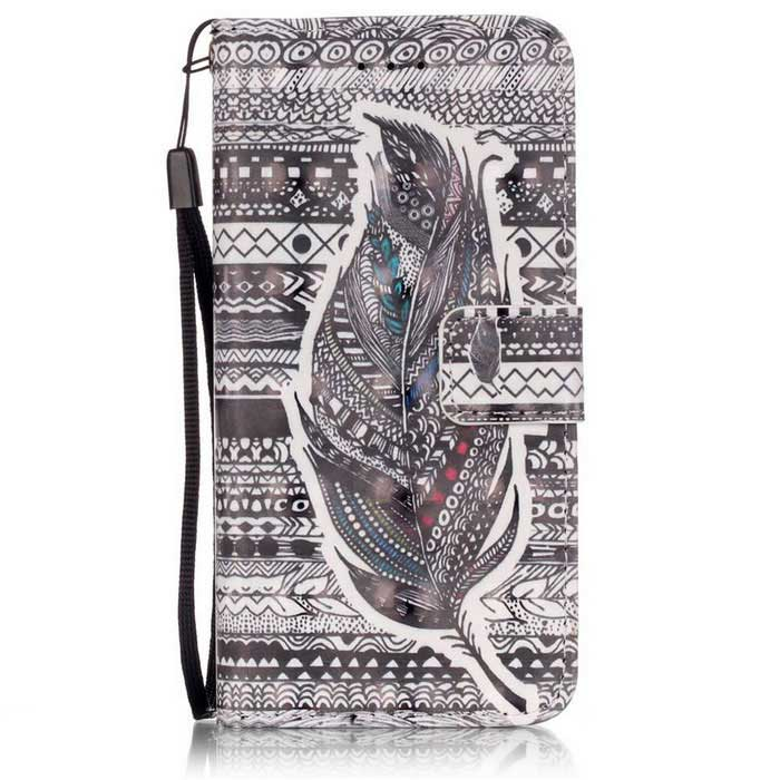 "Tribal Feathers 3D Pattern Protective Case for 5.5"" IPHONE 6 Plus"