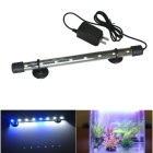 Jiawen 4W 30cm White + Blue Light 8-LED Aquarium Light (US Plug)