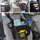ZIQIAO Multi-function Universal Car Seat Drivers Hang Bag - Black