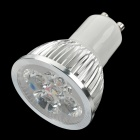GU10 360-Lumen 3500K Warm White Light 4-LED Cup Bulb (85~265V AC)