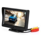 KELIMA Car Rear View Monitor w/ 4-LED Lights 4.3 inch Display - Black