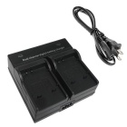50B Digital Camera Battery Dual Charger for Olympus Li-50B Li-90B XZ1