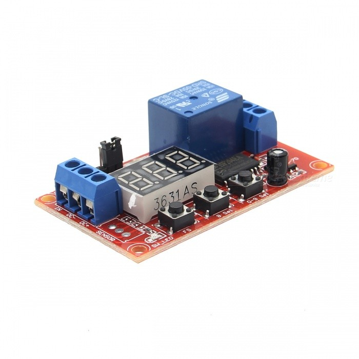 5V Digital Mobilize Multi-function Time Delay Relay ModuleBoards &amp; Shields<br>Form Color5V-Relay ModelN/AQuantity1 PieceMaterialPCB + Electronic ComponentsEnglish Manual / SpecNoPacking List1 * Relay Module<br>