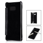Mirror Cover Protective Flip Case for GALAXY NOTE 7 - Black