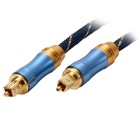 LSYJ-A015 Digital Round Optical Fiber Male to Male Audio Cable (1.5m)