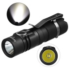 MANKER E11 XP-L V5 7-Mode 800lm Neutral White Flashlight - Black
