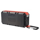 OldShark Portable Outdoor Bluetooth 4.0 Wireless Speaker - Preto + Vermelho