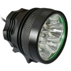 Super 10LED Waterproof 3-Mode White LED Light for Electric Bicycle