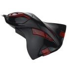 Maikou Wired USB 2.0 Gaming Mouse Plane Shape - Black + Red