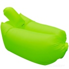 CTSmart Inflatable Sleeping Bag / Sofa w/ Pillow - Fluorescent Green
