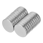 D16*16*3mm Cylindrical NdFeB Magnets - Silver (20PCS)
