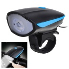 Waterproof Rechargeable 240lm Cold White Light 3-Mode Bike Headlight w/ 120dB Loud Electronic Horn