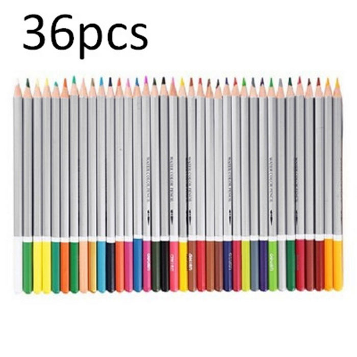 6522 Assorted Water Soluble Drawing Stationery - Silver + Grey (36PCS)