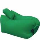 CTSmart Inflatable Sleeping Bag / Deck Chair w/ Pillow - Green