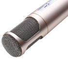 TUXUN K068 Mini Karaoke Player Wireless Condenser Microphone - Golden