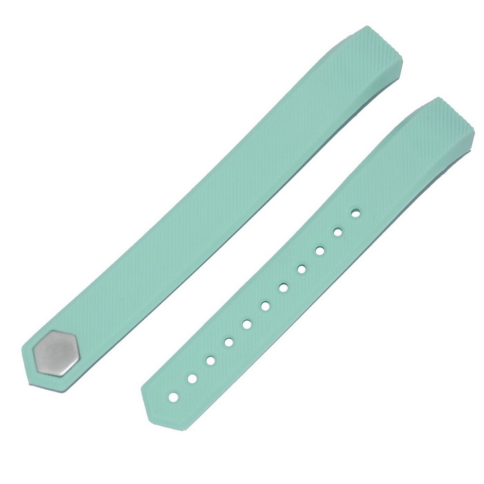 Intelligent Color Bracelet Wrist Strap For Fitbit alta - Cyan