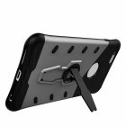 Protective TPU + PC Back Case w/ Holder Stand for IPHONE 6/6S - Black