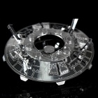 DIY 3D Puzzle Model Assembled Educational Toys Flying Saucer - Silver