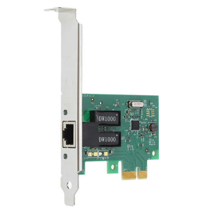 PCI-E nics gigabit ethernet - verde