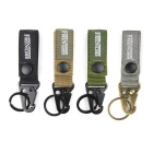 Free Soldier Quick Release Belt + Aluminum Alloy Snap Hook Keychain