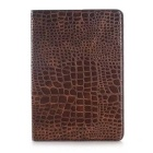 Luxury Crocodile Pattern PU Leather Case for Samsung Galaxy Tab A 9.7 T550 T555 Stand smart Cover