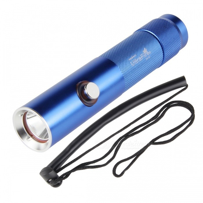 1200lm 3-Mode Cool White Diving Flashlight w/ Power Display (3.7~4.2V)