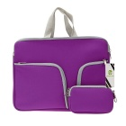 "EPGATE 11 "" neoprene 3 -bolsos laptop portátil saco + power bag - roxo"