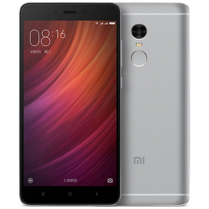"Xiaomi Redmi Note 4 5.5"" Deca-Core Phone w/ 3GB RAM, 64GB ROM - Gray"