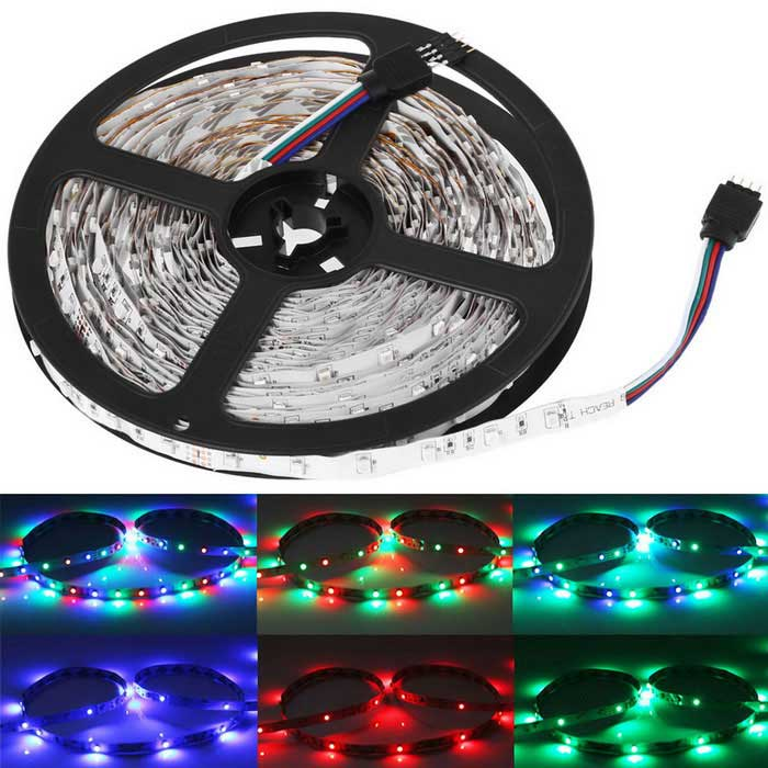 youoklight 33ft 10m rgb led light strips 3528 smd led non waterproof free shipping dealextreme. Black Bedroom Furniture Sets. Home Design Ideas