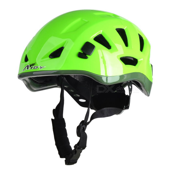 AIDY Outdoor Adjustable Bike Cycling Helmet - Green (L)